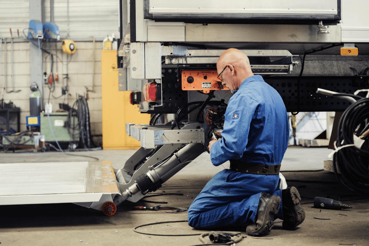 reparatie en onderhoud laadbak